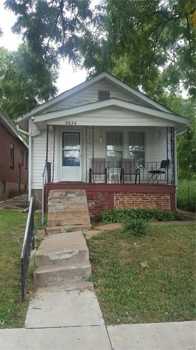 6034 Shulte Avenue, St Louis, MO 63136 - #: 18067622