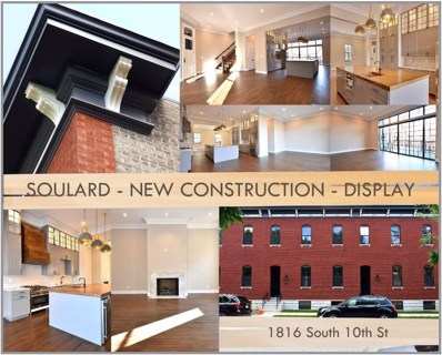 1816 S 10TH Street, St Louis, MO 63104 - #: 18074745