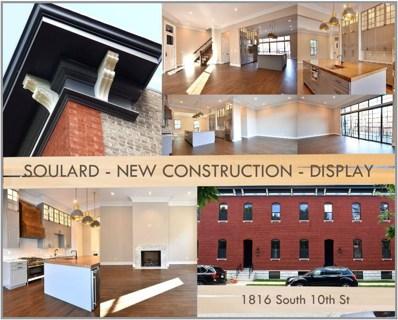 1816 S 10TH Street, St Louis, MO 63104 - #: 18074781