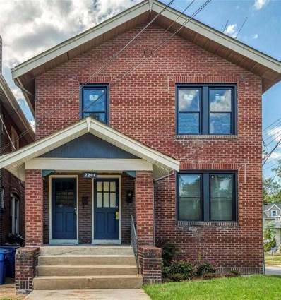 2201 Bellevue Avenue, St Louis, MO 63143 - #: 19074793