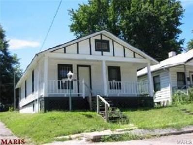 6208 Greer Avenue, St Louis, MO 63121 - #: 21000124