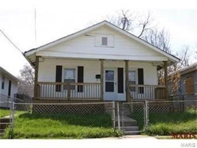 6228 Greer Avenue, St Louis, MO 63121 - #: 21000125
