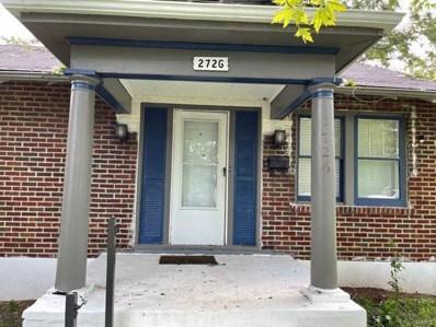 2726 Wheaton Avenue, St Louis, MO 63114 - #: 21071092