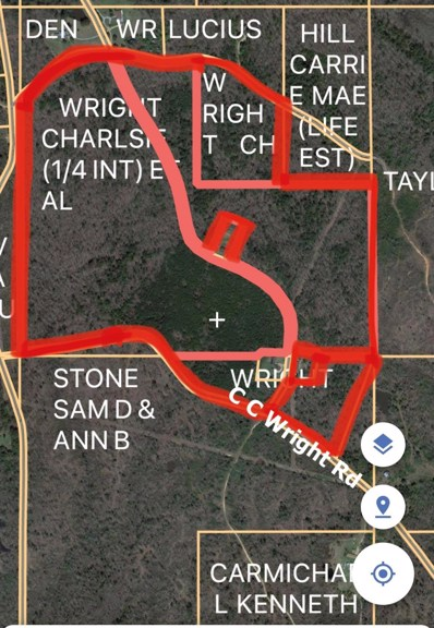 C C Wright Road, Mantee, MS 39751 - #: 21-167