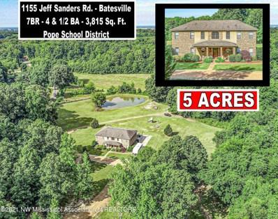 1155 Jeff Sanders Road, Batesville, MS 38606 - #: 336401
