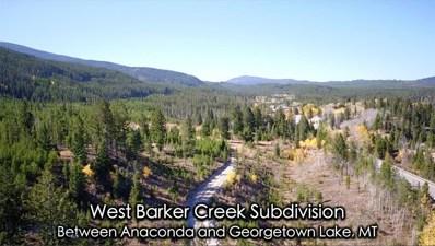 2 Highway 1, Georgetown Lake, MT 59711 - #: 350905