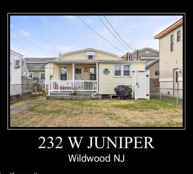 232 W Juniper Avenue, Wildwood, NJ 08260 - #: 185262