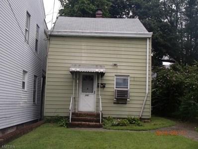 241 Sussex St, Paterson City, NJ 07503 - #: 3501713