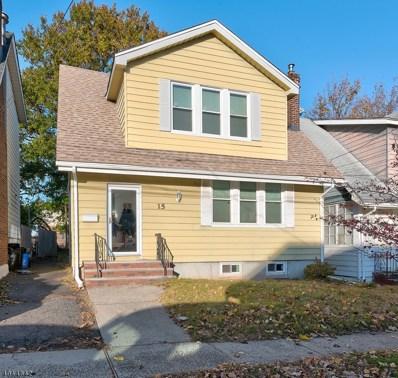 15 Tunbridge Pl, Bloomfield Twp., NJ 07003 - #: 3600460