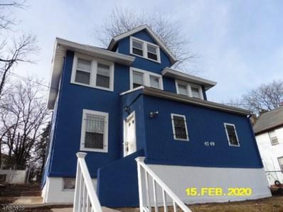 47 Pine Grove Ter, Newark City, NJ 07106 - #: 3616700