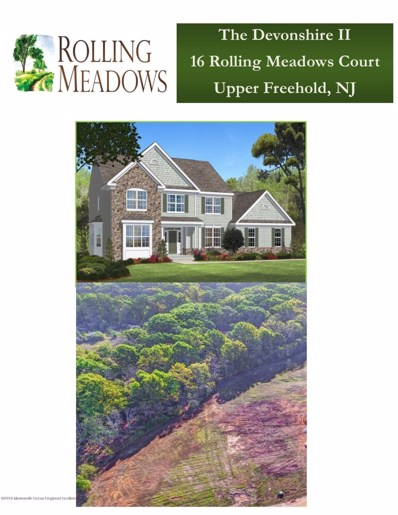 16 Rolling Meadows Court, Upper Freehold, NJ 08501 - #: 21839757