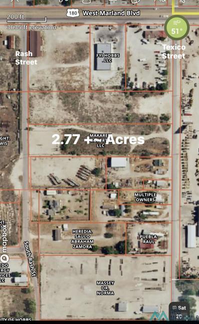 2.77 Acres Rash, Hobbs, NM 88240 - #: 20132405
