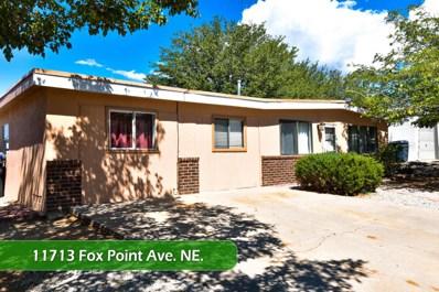 11713 Fox Point Avenue NE, Albuquerque, NM 87112 - #: 928685