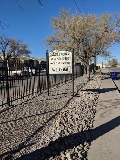 4601 Carlisle Boulevard NE UNIT APT B4, Albuquerque, NM 87109 - #: 933884