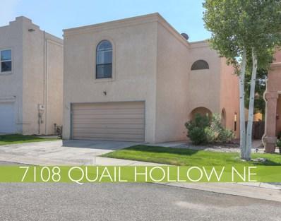 7108 Quail Hollow Lane NE, Albuquerque, NM 87109 - #: 952486
