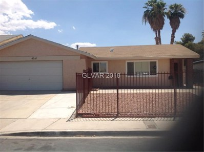 4561 Margarete Avenue, Las Vegas, NV 89121 - #: 2019481
