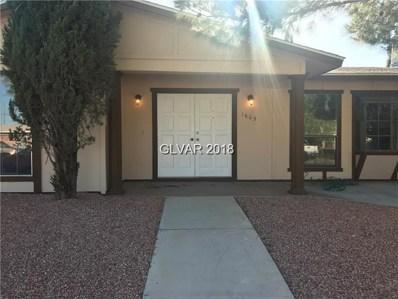 1605 Yellow Rose Street, Las Vegas, NV 89108 - #: 2044246