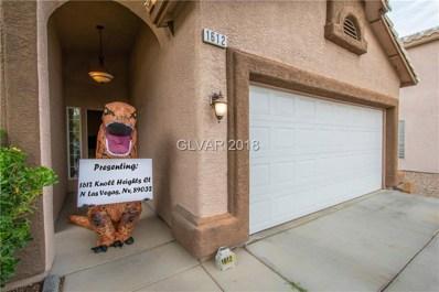 1612 Knoll Heights Court, North Las Vegas, NV 89032 - #: 2051814