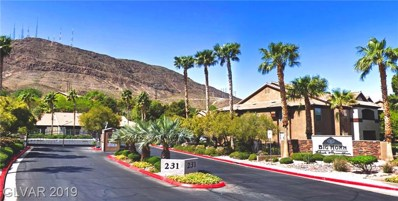 231 Horizon Ridge UNIT 721, Henderson, NV 89012 - #: 2065023