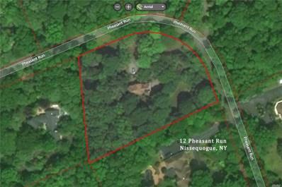 12 Pheasant Run, Nissequogue, NY 11780 - #: 3142496