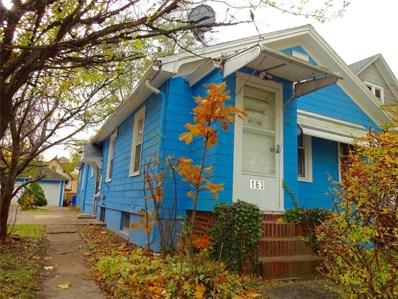 163 Arnett Boulevard, Rochester, NY 14619 - #: R1160741