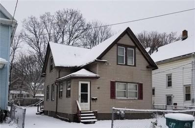 47 Frances Street, Rochester, NY 14609 - #: R1168135