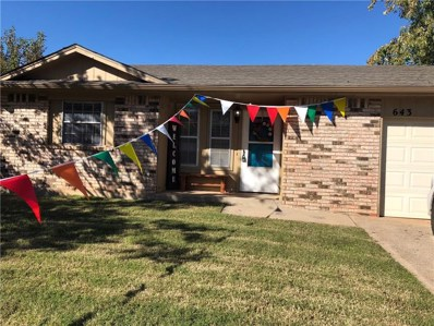 643 W Forster Drive, Mustang, OK 73064 - #: 839010