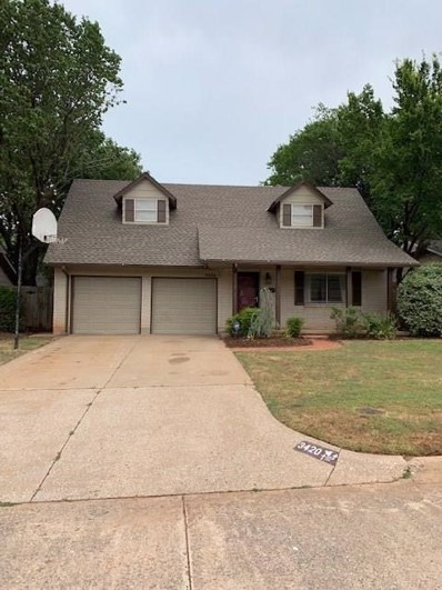 3420 N Glenvalley Drive, Midwest City, OK 73110 - #: 877967