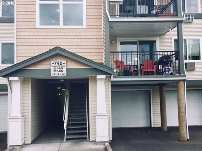 740 NW 185TH Ave UNIT 204, Beaverton, OR 97006 - #: 18072837