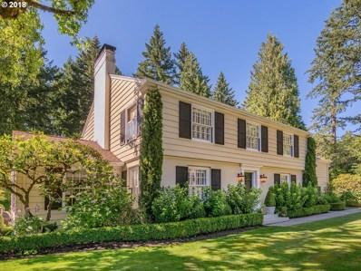 1717 SW Highland Rd, Portland, OR 97221 - #: 18600000