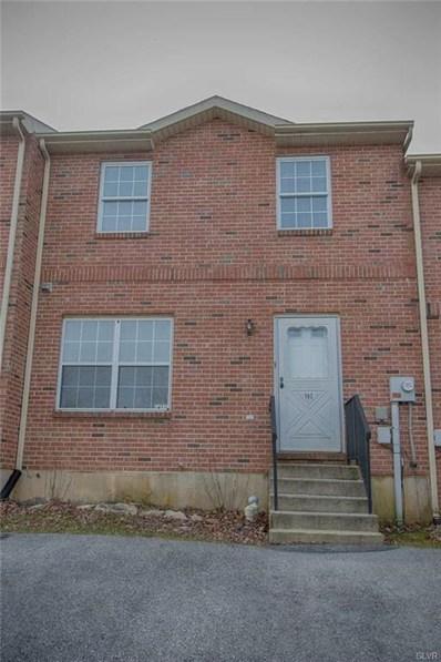102 Cobblestone Court, Alburtis Borough, PA 18011 - #: 597415