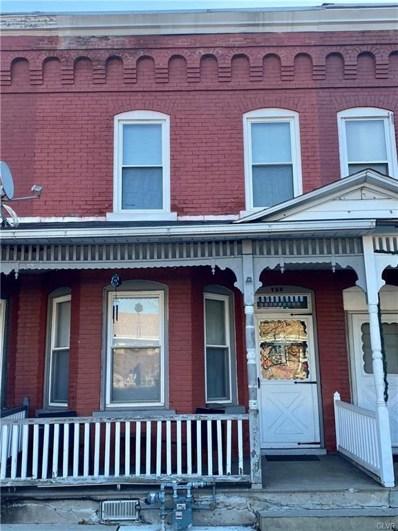 756 Seneca Street, Fountain Hill Boro, PA 18015 - #: 654940