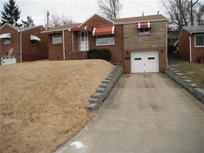 3525 Brinway Dr, West Mifflin, PA 15122 - #: 1380696