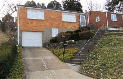 522 Kirk Avenue, Pittsburgh, PA 15227 - #: 1431359