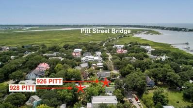 926 Pitt Street, Mount Pleasant, SC 29464 - #: 18022041