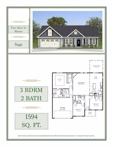 240 Hardin Rd Lot 11, Chesnee, SC 29323 - #: 256163
