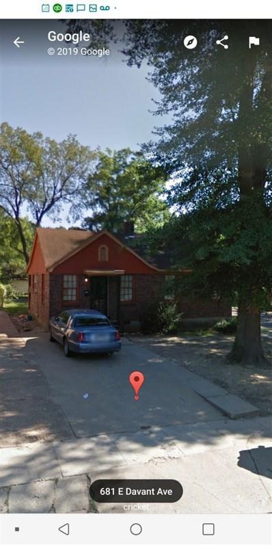 686 E Davant Ave, Memphis, TN 38106 - #: 10048743