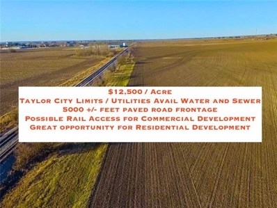000 County Rd 409, Taylor, TX 76574 - #: 1572090
