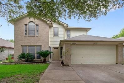 1534 Arusha Street, Round Rock, TX 78664 - #: 2959215
