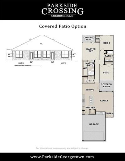 600 Parkline Drive Unit 12B, Georgetown, TX 78626 - #: 3872300