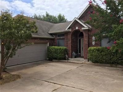 3720 Birdhouse Drive, Round Rock, TX 78665 - #: 9097083