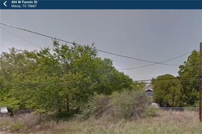 404 W Fannin Street, Mexia, TX 76667 - #: 13763240