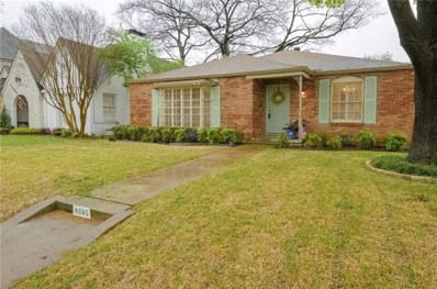 4085 Purdue Avenue, University Park, TX 75225 - #: 13785256