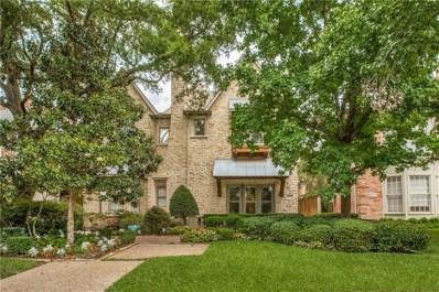 3536 Granada Avenue, University Park, TX 75205 - #: 13903374