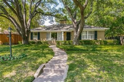 6305 Del Norte Lane, Dallas, TX 75225 - #: 13922309