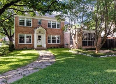 3548 McFarlin Boulevard, University Park, TX 75205 - #: 13926993