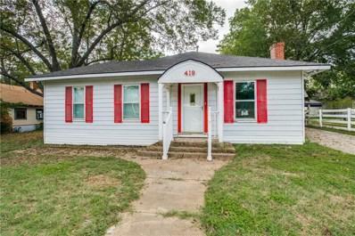 419 W Wilson Street W, Cleburne, TX 76033 - #: 13947627
