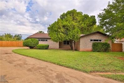 1658 N Bowie Drive N, Abilene, TX 79603 - #: 13950626