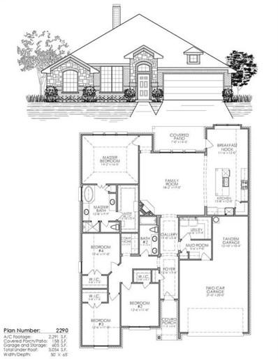 508 Sagebrush Court, Aledo, TX 76008 - #: 13953811