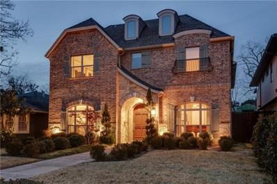5619 W Hanover Avenue, Dallas, TX 75209 - #: 13981873